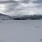 På tur mot Selkop, har akkurat passert Russelvbrua og Russelva foran her