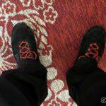 Tok på joggeskoene pga. ond lilletå og siden æ ikke skulle gå til Rottelvbrua