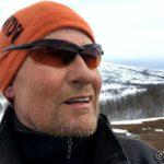 En selfie før æ går fra Storberget
