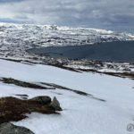 Kjente på at sist æ var her oppe så datt æ og skled ned fjellsiden, så æ var veldig forsiktig i dag