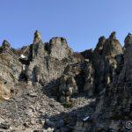 Som æ har sagt mange ganger før, fantastiske formasjoner på fjellet utover østsiden av Revsbotn