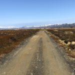 Veien opp mot Kokelvdalen begynner å bli snøfri, men veien er myk
