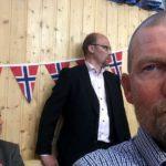 Selfie med Kjell og Jan Arvid bak