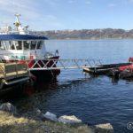 Båtene til NSR ligger til kai i dag