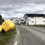 Ankommet Masterelv og etter innskrivinga i trimboka gikk æ videre mot Storjord
