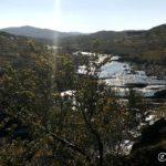Kokelva, sett fra fossen og oppover Kokelvdalen