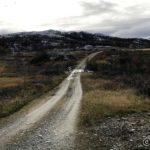 Snart ved Rottelvbrua og det var også en bil antageligvis med en eller flere rypejegere