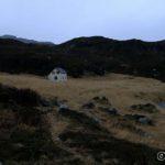 Huset på Storjord, kan ikke noe for det, men det ser litt spøkelsesaktig ut. 👻