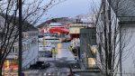 To store supplybåter ved kai, skulle nesten tro at Polarbase hadde flyttet til byen