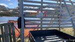Port v/Rumpetrollvannet og kanskje en skulle ha latt porten stå åpen slik at reinen på innsia hadde kommet sæ ut