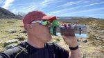 Fant benken på toppen av Sikksakkveien og var så tørst, og ikke minst sliten