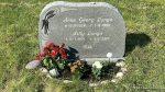 Var i dag en tur på gravstedet til mine foreldre og pyntet litt