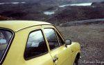 Æ og et arbeidslag fra Dokka jobba på veien til Tyven i 1983, her et gammelt bilde fra den tia
